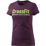 Reebok Crossfit T-Shirt Damen lila/melange