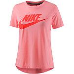 Nike Essential High Brand Read T-Shirt Damen pink