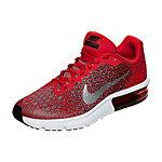 Nike Air Max Sequent 2 Laufschuhe Kinder rot / grau / schwarz