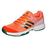 adidas adizero Ubersonic 2 Tennisschuhe Damen orange / petrol
