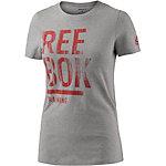 Reebok T-Shirt Damen grau/melange