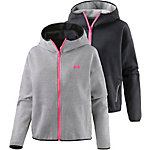 Under Armour Double Threat Swacket Funktionsjacke Damen grau/pink