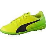 PUMA evoSPEED 17.5 TT Jr Fußballschuhe Kinder gelb/schwarz