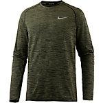 Nike Dri-Fit Knit Laufshirt Herren oliv