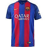 Nike FC Barcelona 16/17 Heim Fußballtrikot Kinder blau/rot
