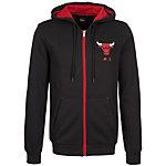 adidas Chicago Bulls Fanwear Sweatjacke Herren schwarz / rot