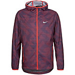 Nike Shield Laufjacke Herren rot / dunkelblau