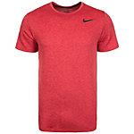 Nike Breathe Funktionsshirt Herren rot / schwarz