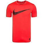 Nike Pro Funktionsshirt Herren rot / schwarz