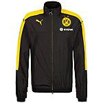 PUMA Borussia Dortmund Funktionsjacke Herren schwarz / gelb