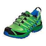 Salomon XA PRO 3D CSWP Laufschuhe Kinder grün / blau