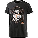 adidas Star Wars BB-8 T-Shirt Herren schwarz
