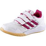 adidas AltaRun Hallenschuhe Kinder weiß/pink