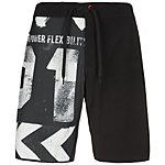 Reebok Printed Board Shorts Herren schwarz / grau