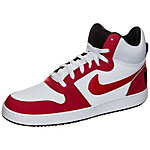 Nike Court Borough Mid Sneaker Herren weiß / rot / schwarz