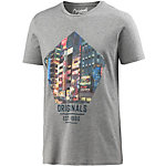 Jack & Jones T-Shirt Herren grau melange