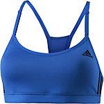 adidas Strappy Sport-BH Damen blau/schwarz