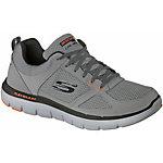 Skechers Flex Advantage 2 Sneaker Herren grau/orange