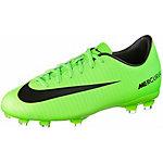 Nike JR MECURIAL VICTORY VI FG Fußballschuhe Kinder neongrün/schwarz