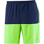 Nike Distance Laufshorts Herren blau/gelb