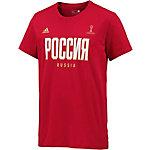 adidas Russland Fanshirt Herren rot