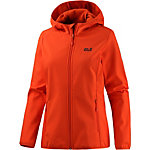Jack Wolfskin Northern Point Softshelljacke Damen rotorange