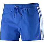 adidas Badeshorts Herren blau/weiß