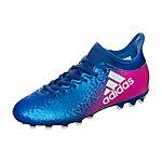 adidas X 16.3 Fußballschuhe Kinder blau / pink / weiß