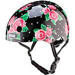 Nutcase Rosey Dots Fahrradhelm Damen schwarz/rot/weiß
