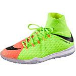 Nike JR HYPERVENOMX PROXIMO II IC Fußballschuhe Kinder neongrün/orange