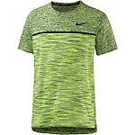 Nike T-Shirt Herren neongrün/schwarz
