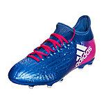 adidas X 16.1 Fußballschuhe Kinder blau / pink