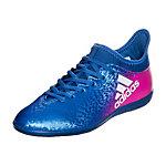 adidas X 16.3 Fußballschuhe Kinder blau / pink