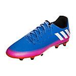 adidas Messi 16.3 Fußballschuhe Kinder blau / pink / orange
