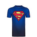 Under Armour HeatGear Superman Funktionsshirt Jungen blau / rot / gelb