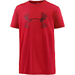Under Armour Funktionsshirt Jungen rot