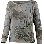 Only Sweatshirt Damen light grey melange
