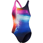 SPEEDO Solarvision Placement Digital Powerback Schwimmanzug Damen navy/bunt