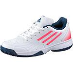 adidas SonicAttac Tennisschuhe Kinder weiß/pink