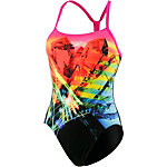 SPEEDO Prismstorm Placement Digital Rippleback Schwimmanzug schwarz/bunt