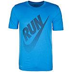 Nike Dry Laufshirt Herren blau