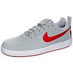 Nike Court Borough Low Sneaker Herren grau / rot