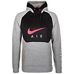 Nike Air Hybrid Kapuzenpullover Herren grau / schwarz / rot