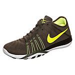 Nike Free TR 6 Fitnessschuhe Damen khaki / neongelb