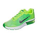 Nike Air Max Sequent 2 Laufschuhe Kinder hellgrün / silber
