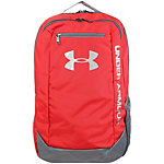 Under Armour Hustle LDWR Daypack rot / grau