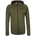 Nike Dry Trainingsjacke Herren grün / schwarz