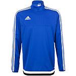 adidas Sweatshirt Herren blau / weiß