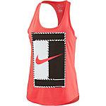 Nike Tennisshirt Damen neonorange