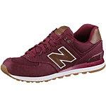NEW BALANCE ML574TXD Sneaker Herren weinrot